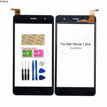For Dell Venue7 Plus Touch Screen Digitizer Front Outer Glass Touch Panel Sensor Replacement Parts