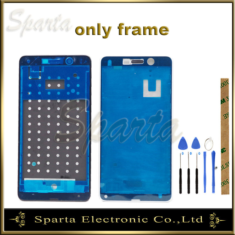NEW NEW Good Quality Middle Frame For <font><b>Huawei</b></font> <font><b>GR5</b></font> <font><b>2017</b></font> / Honor 6X No LCD Display Panel Faceplace Repair parts image