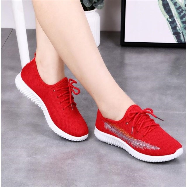 pregare corrompere Arcobaleno  Women Running Shoes 2020 Sneakers Solid Black Red Shoes Gym Fitness  Trainers Walking Sport Shoes Female Zapatos Mujer Size 35 41|Women's  Vulcanize Shoes| - AliExpress