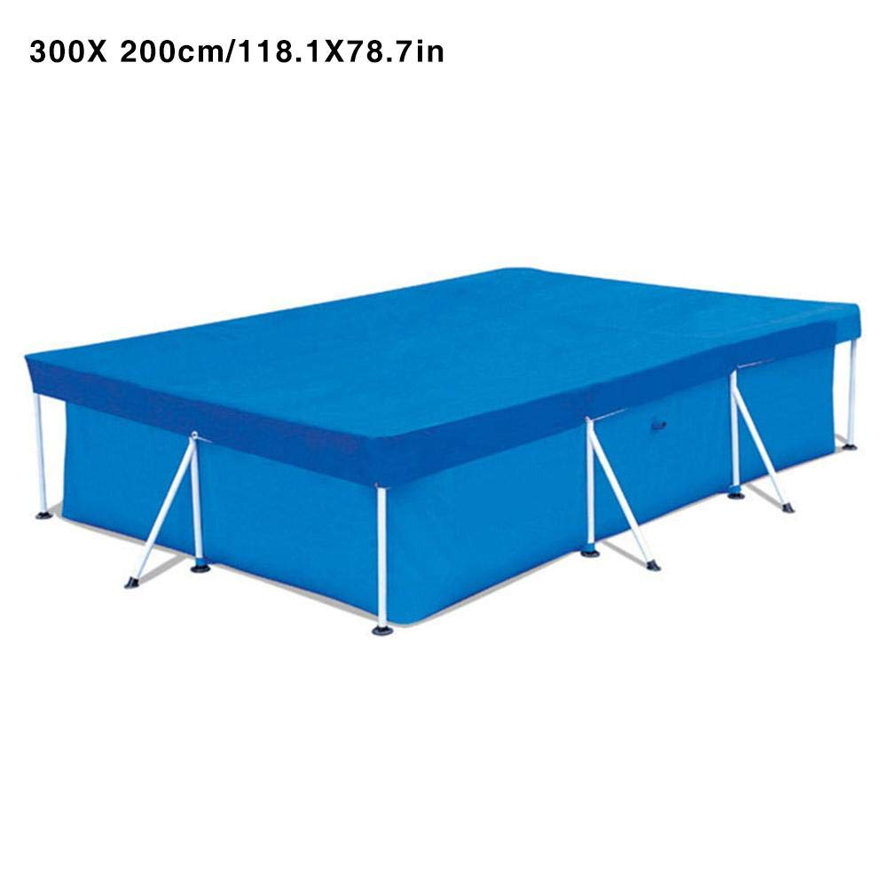 Polyester Rectangular Garden Thicken Easy Use Pool Cover Home Anti Dust Above Ground Protective Keep Clean Lightweight Rainproof