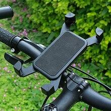 Велосипед Мотоцикл Руль держатель телефона держатель с силиконовой опорой для Iphone samsung XIAOMI gps универсальный