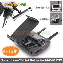 4 12in Smartphone Tablet Esteso Il Supporto Del Supporto Del Basamento Staffa per Dji Spark Mavic 2 Pro Mavic Mini Aria Telecomando