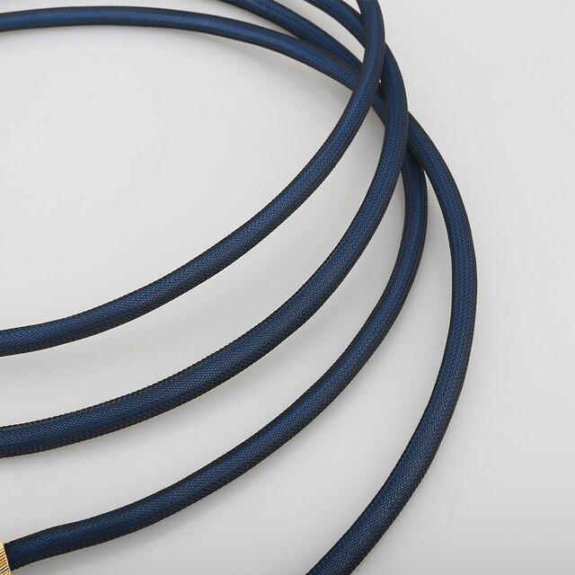 Audiocrast A10 쌍 Rca 케이블 상단 등급 실버 도금 RCA 남성 남성 케이블 WBT0144 RCA 플러그 케이블