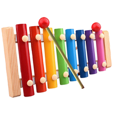 Kid Musical Toys Xylophone Development Wisdom Wooden Instruments Inspire talent music