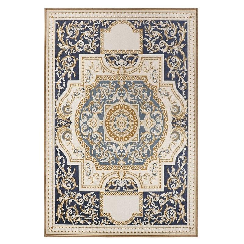 Nordique géométrique tapis salon chambre étude tête de lit rectangulaire tapis moderne décor maison tapis canapé Yoga 3D couverture tapis - 4
