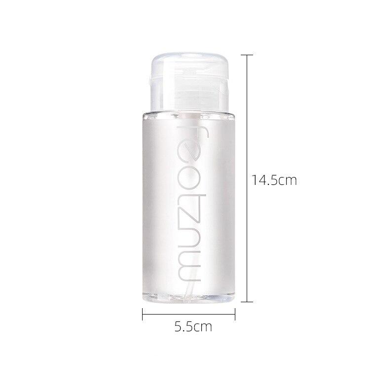 removedor de sujeira hidratante líquido refrescante