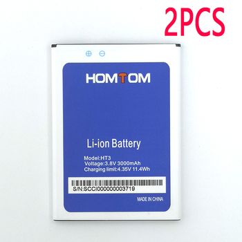 2PCS New In Stock High Quality Battery For HOMTOM HT3/ht3 PRO Moble Phone+Tracking Number image