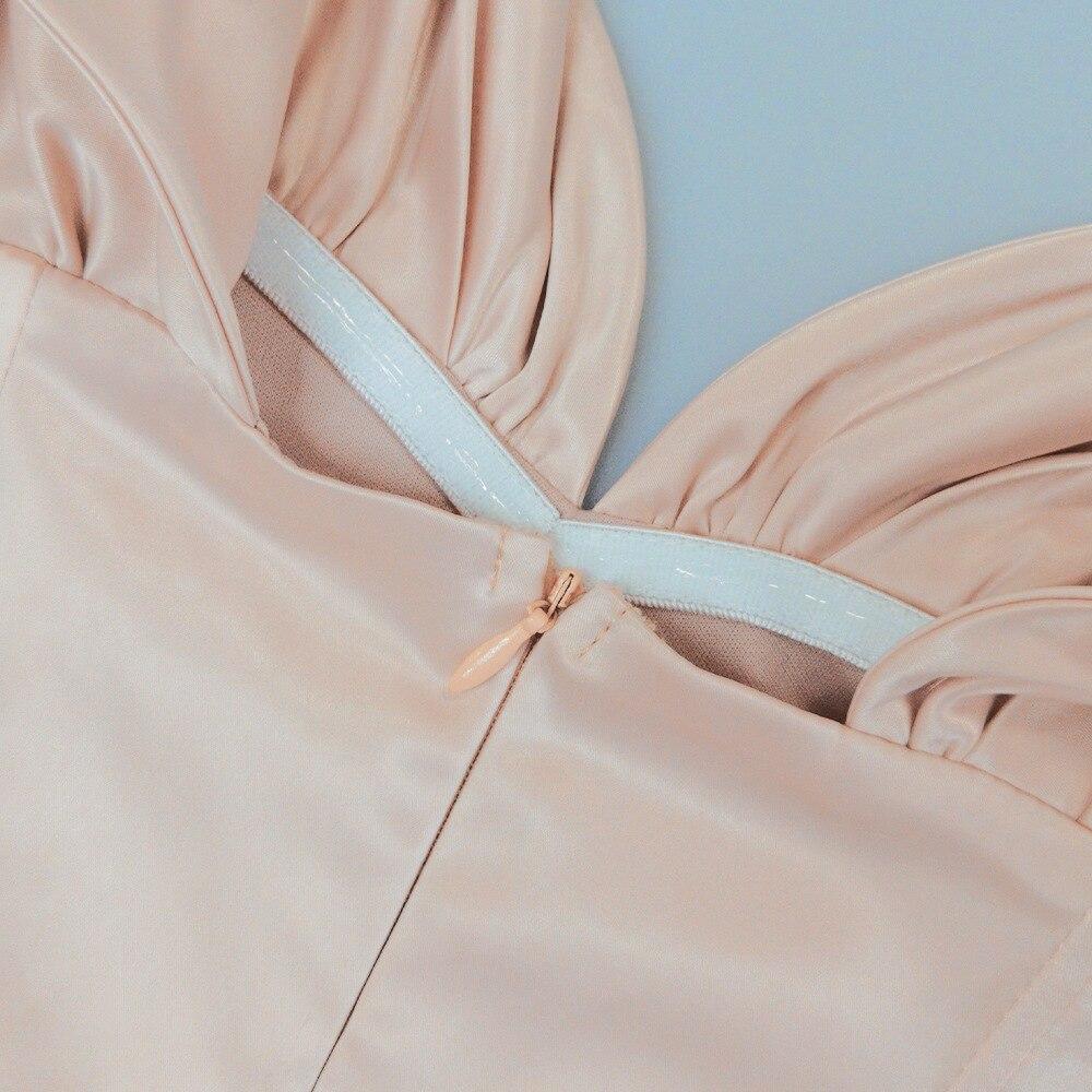 Sexy robe d'été moulante décontractée