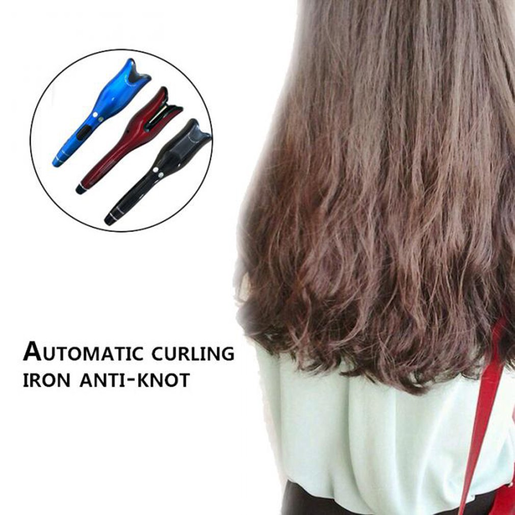 2019 New Coming Automatic Curling Iron Air Curler Spin Ceramic Rotating N Curl 1 Inch hair curler