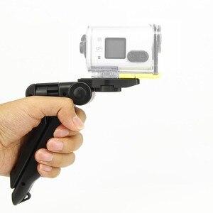 Image 2 - 2in1 כף יד אחיזת מיני חצובה וstablizer עבור Sony Rx0 FdrX3000r As300 As200 As100 As50 As30 As20 As15 פעולה מצלמת אבזרים