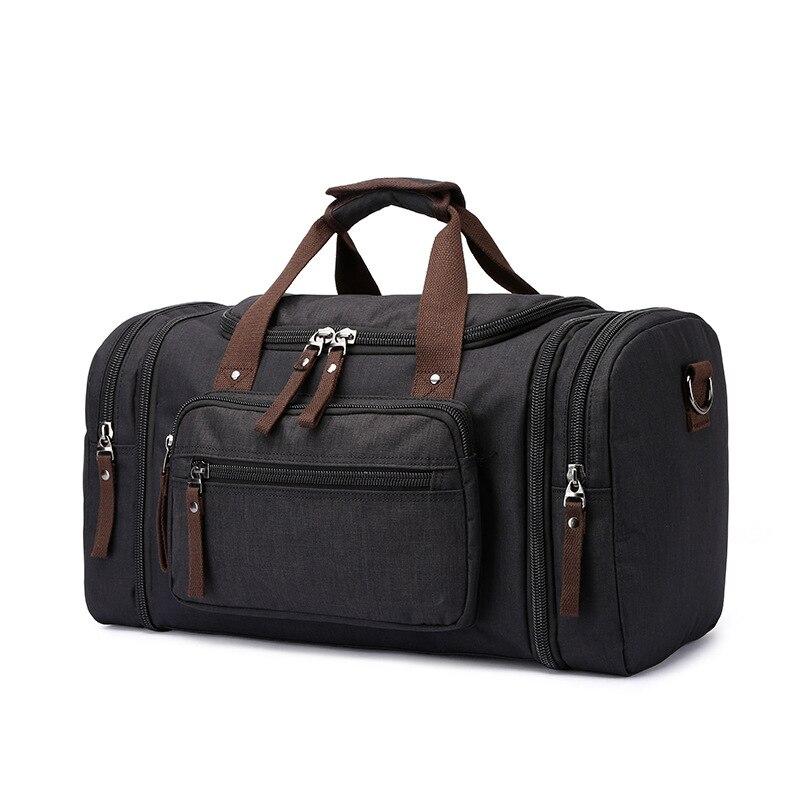Mu gu travel bag anti spillage material outdoor luggage bag canvas shoulder bag large capacity wholesale handbag