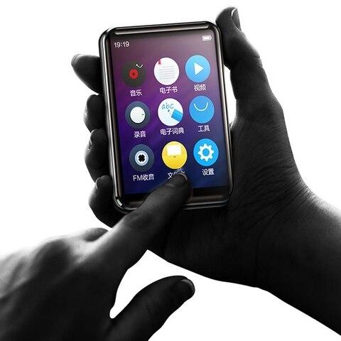 Tela de Imprensa Leitor de Vídeo de Música com Alto-falante fm de Alta Benjie Completa Player E-book Rádio Fidelidade Bluetooth Lossless 2.5 Polegada x5 Mp3
