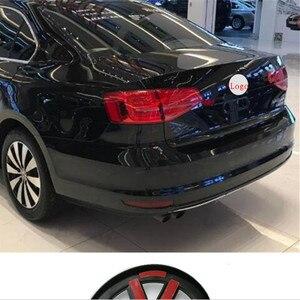 Image 2 - Anteriore/Posteriore Griglia Centrale Distintivo Dellemblema Per Volkswagen GOLF 7 Tiguan sagitar Lamando MAGOTAN POLO BORA auto refiting logo sticker