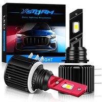 Xstorm H15 Led-lampe Canbus Kein Fehler 3570 CSP Auto Scheinwerfer Fernlicht Autos Licht 12V 6000K Weiß auto Lampe für VW Audi BMW