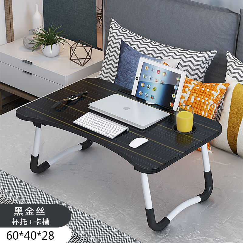 Painted Laptop Desk Study Desk With Foldable Table Slot In Bed Table Standing Desk Portable Stand Foldable Table Laptop Bed