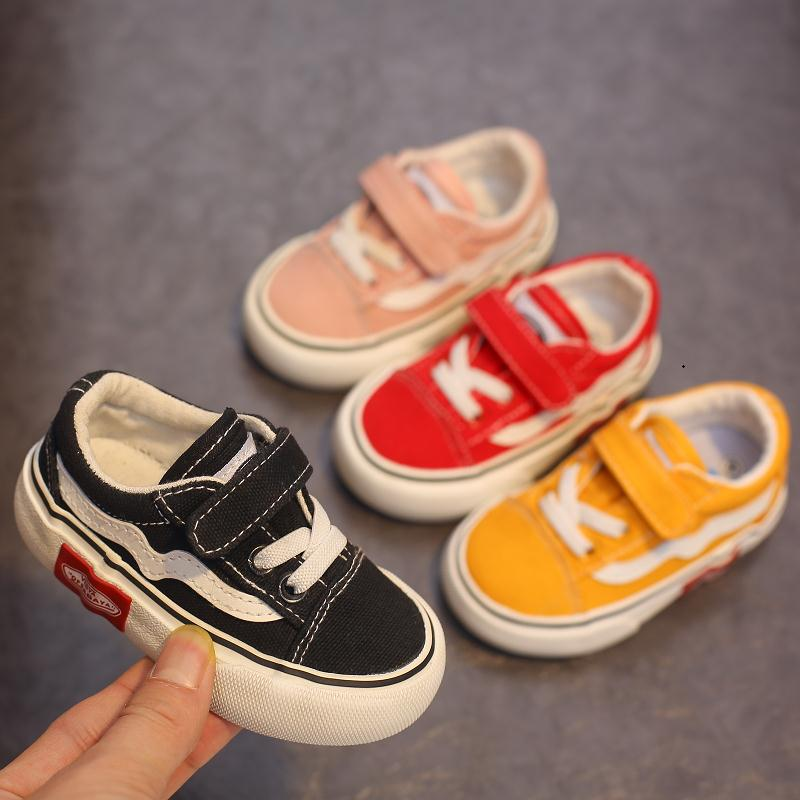 Babaya Baby Shoes Soft Bottom Boy Casual Shoes 1-12 Years Old 2021 Autumn Children Canvas Shoes Kids Girls Walking Shoes Toddler 4