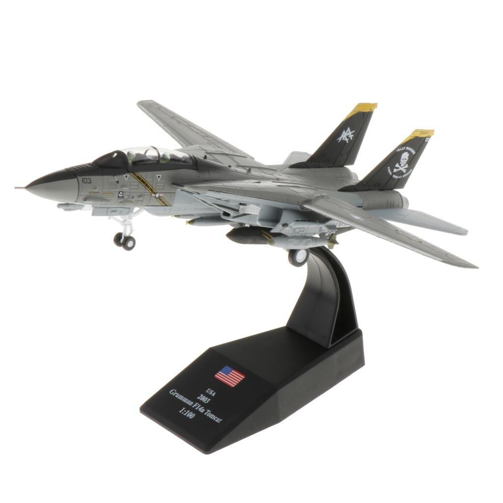 Модель военного самолета из сплава в масштабе 1/100, модель литая самолета в памятную коллекцию или подарок
