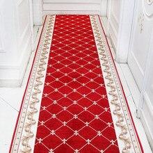 Tapis Long pour escaliers, Style européen, couloir, allée d'hôtel, porte d'entrée de maison, sol de mariage