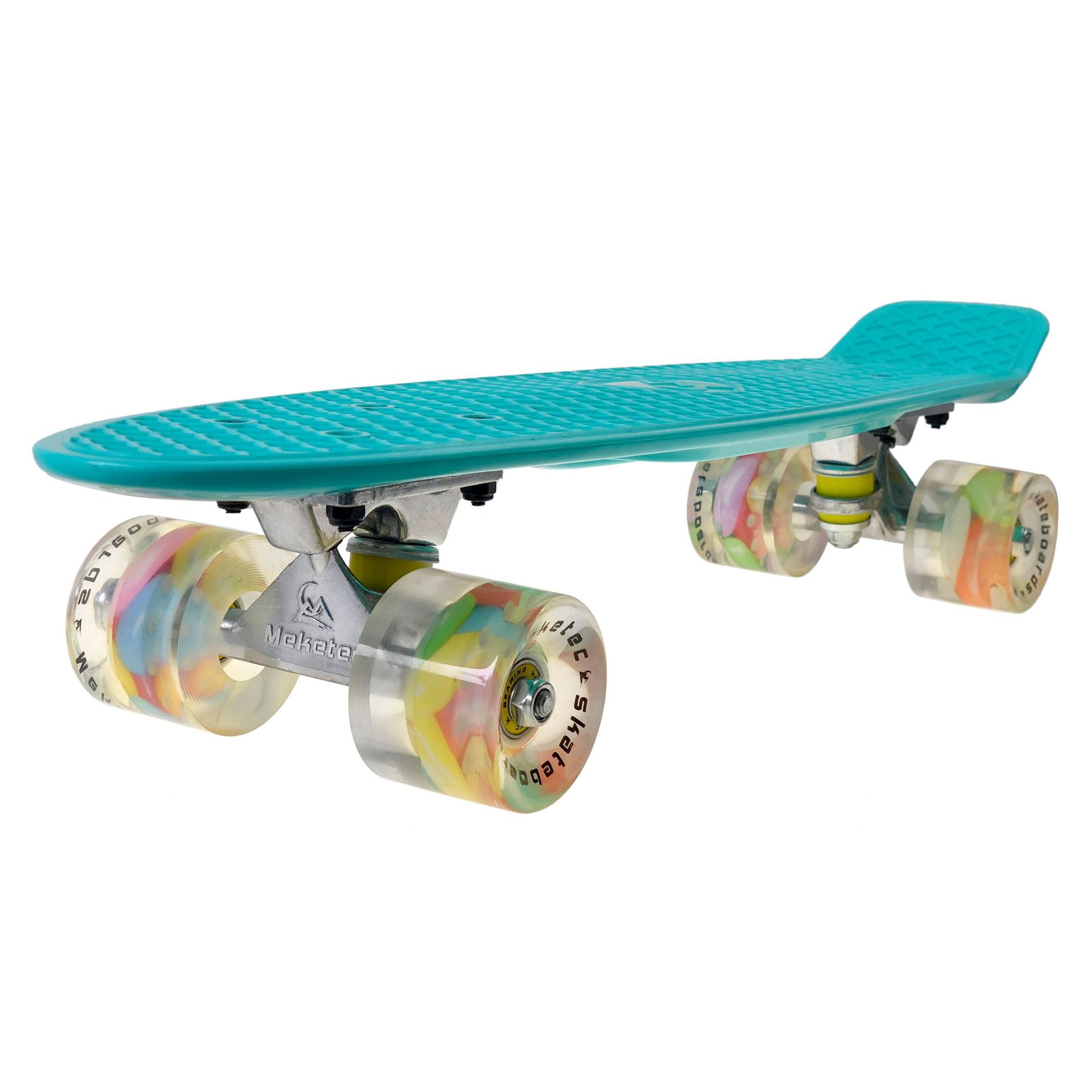 Manufacturers Direct Selling Export Europe And America Cross Border Electricity Supplier New Style Fish Skateboard Printed Pu Wh
