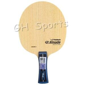 Image 3 - YASAKA Originale Alnade ALC (Jingkun LIANG, Made in Japan) arylate Carbonio Lama di Tennis Da Tavolo Racchetta Ping Pong Paddle Bat