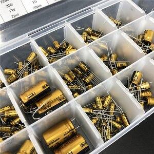 Image 4 - 18 Values Nichicon FW/FG HiFi DIY High Grade Audio capacitor assorted kit box assortment 6.3V~100V, 10uF~3300uF total 241pcs