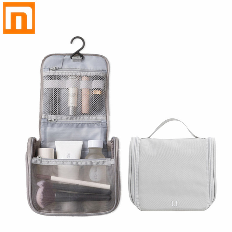 New Xiaomi Jordan&Judy Portable Travel Cosmetic Bag Neceser Hanging Wash Bag Neutral Make Up Bag Organizer Wash Storage Bag