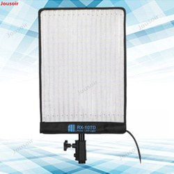 LED flexible roll cloth light camera external shooting light fill light studio lamp RX-10TD CD50 T03