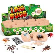 12 шт детская игрушка жук