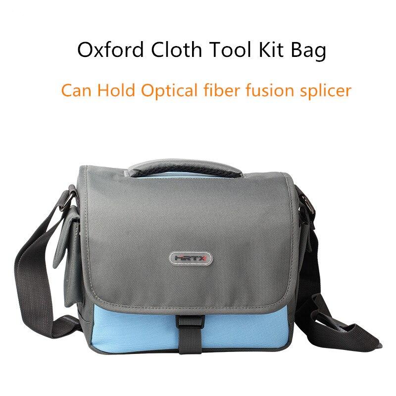 High Grade Waterproof Fiber Optic Fusion Splicer Tool Kit Carring Bags Power Meter Fiber Cleaver Oxford Cloth Tool Big/Small Bag
