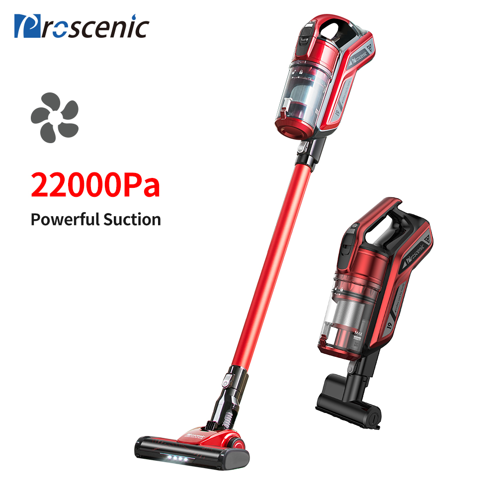 Proscenic Vacuum-Cleaner Cyclone Cordless 22000pa Handheld Portable Vertical Home