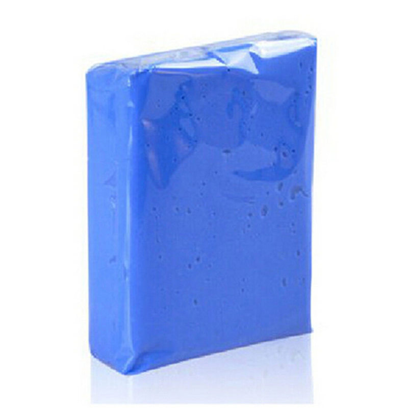 Quick Dry Auto Clay Bar Water Absorption Blue Clay For Cars Clay Bars Car Care Clay Bar Magic For Cleaning Coffee Dinner