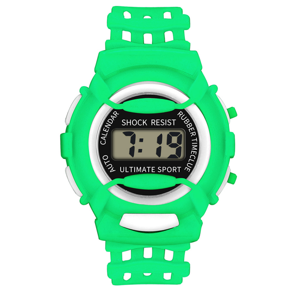 Kids Casual Electronic Watch Children Silicone Sports Watches Lightweight And Durable  LL@17