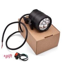 دراجة نارية المصباح المساعد مصباح 60 واط LED موتو الأضواء الضباب مصباح سيارة هوندا MSX 125 CB650R CB125R XADV X ADV 750 X11 ST1300