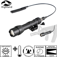 M600 M300 IPX6-IPX7 WaterproofLow Temperature Resistance Tactical Hunting Light LED Flashlight  For 1913 Rail Mount