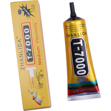 Black 110ml T7000 Phone Glass Display Super Glue Leather Metal Plastic Adhesive T-7000 Textile Fabric Clothes T8000 T9000 T5000