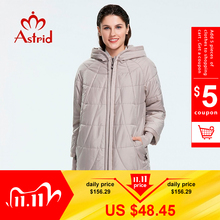 Winter Coat Outerwear Down-Jacket Women Fashion AM-2075 Mid-Length Astrid Slim-Style
