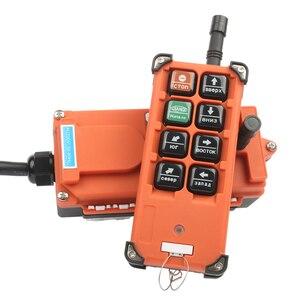 Image 2 - Control remoto Industrial de 220V, 380V, 110V, 12V, 24V, interruptores, Control de grúa de levantamiento, grúa elevadora, 1 transmisor + 1 receptor F21 E1B