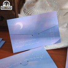 Mr.paper 4 style powitanie kartki z kopertą zaproszenie koperty na karty INS style wesele zaproszenie koperty