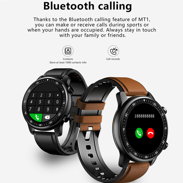 Full Touch Smart Watch Bluetooth Call Play Music Sport Smartwatch Men Women Heart Rate Fitness Tracker Watch For Android Iphone 2