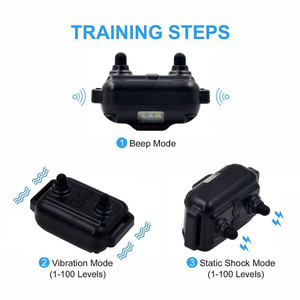 Image 5 - ON SALE! Dog Collar Waterproof Rechargeable Electric Dog Training Collar With Remote Controller Electric Pet Dog Training Collar