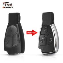 Dandkey 3 Bottoni A Distanza Auto Smart Key Caso Borsette Per Mercedes Benz B C E ML S CLK SLK CL GL Cromo Chiave