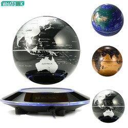 Floating Globe 3D LED Nacht Licht Magnetische Levitation Welt Karte Kid Weihnachten Geschenk Büro Bücherregal Schlafzimmer Home Tellurion Decor Lampe