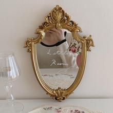 French Luxury Wall Decor Mirror Bathroom Livingroom Hanging Mirrors Makeup Mirror