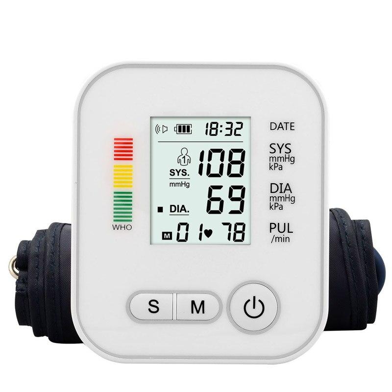 Automatische Arm Blutdruck Monitor BP Blutdruckmessgerät Manometer Meter Tonometer maschine für Mess Arterielle Druck