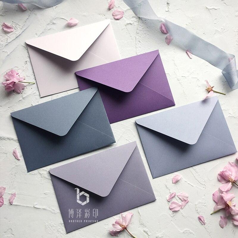 20 pcs/lot enveloppe de luxe européenne pour carte postale nouveauté enveloppe anniversaire noël mariage écriture papier lettré papeterie