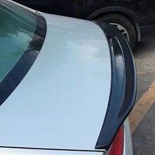 Novo design caractere estilo fibra de carbono spoiler traseiro asa para audi a4 b9 2013-2015 modificação do carro de fibra de carbono boot spoiler