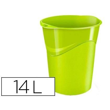 BIN PLASTICO CEP GREEN 14 LITERS