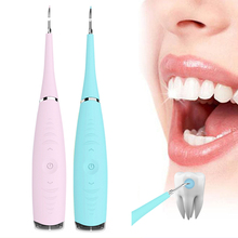 Portable Electric Ultrasonic Dental Scaler Tooth Calculus Tool Sonic Remover Stains Tartar Plaque Whitening Oral Cleaner Machine