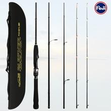Rods Fishing-Lure-Rod Trout-Bass PARTNER 4-Section TSURINOYA Tubular Double-Rod-Tip Universal
