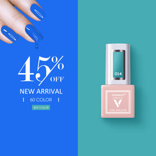 Vinimay Baru 60 Warna Gel Nail Polish UV Nail Gel Lak Primer Rendam Off Nail Art Desain Lacque Kuku gel Varnish Gelpolish(China)